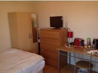 Big size and well furnished double room for rent