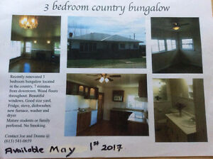 LEASED- 3 Bedroom Country Bungalow