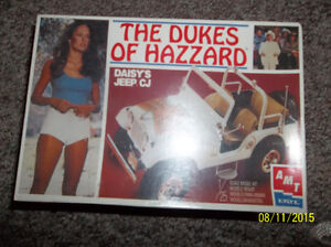 ERTL 1/25 Scale Model Kit, Daisy's Jeep, The Dukes of Hazzard Windsor Region Ontario image 1