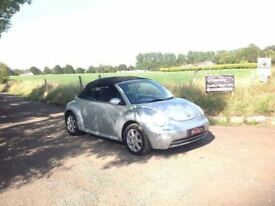 24/7 Trade sales NI Trade prices for the public 2004 Volkswagen Beetle 1.6 Convertible Silver