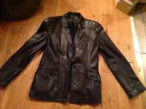 Danier leather blazer womens