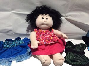 Sweet cloth doll and clothes $10 London Ontario image 1