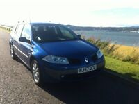 2007 Renault Megane estate 1.6 petrol only 68k long mot