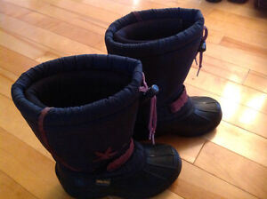 Bottes d'hiver Fille taille 11