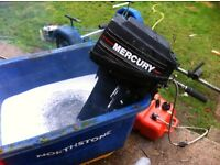 Mercury 9.9 outboard boat engine