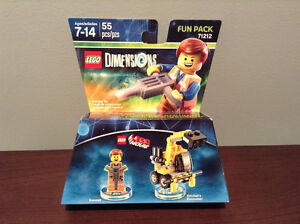 """LEGO DIMENSIONS"" EMMET AND EXCAVATOR ...... NEW!!"