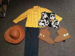 Woody costume for kids....Disney store!