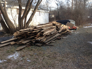 Free scrap wood for burning