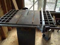 Table saw 10 in contractor table