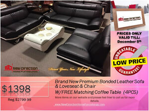 ◆BLACK FRIDAY WEEK! Brand New 2PCs CORDUROY Sectional@NEWD Edmonton Edmonton Area image 5