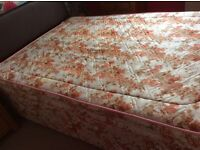 Double divan Bed - Matress - Headboard