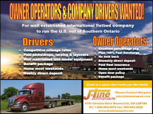 AZ Drivers & Owner Operators Wanted for US Flatbed Kitchener / Waterloo Kitchener Area image 1