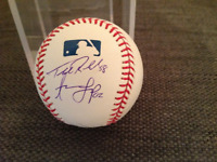 Toronto Blue Jays official MLB signed by Loup, Pompey, Redmond..
