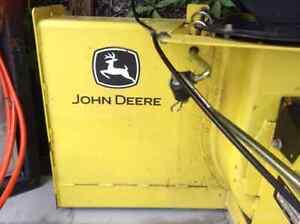 John Deere Snowblower Attachment
