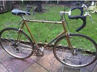 "Retro Holdsworth Reynolds 531 road bike 24"" frame"