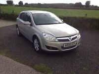 2008 Vauxhall Astra 1.8 Design gold full mot half leather