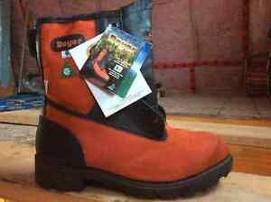 Safety boots design for logger