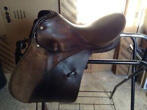 "Kieffer English saddle   16 "" Cornwall Ontario image 1"