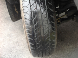 4 - 245/75/16 M&S 109S Dunlop AT20