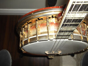 Bacon Silver Bell Symphonie Tenor Banjo Made By Gretch (1960)