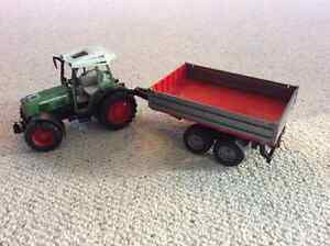 Bruder toy Tractor and trailer