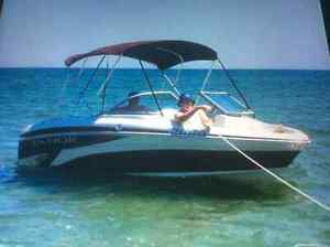 Tahoe bowrider with matching trailer - new condition