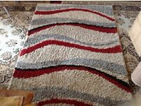 Shaggy Rug wave 2 rug for sale good condition very clean £15 each