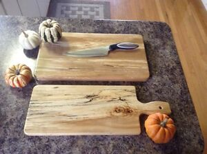 Maple butcher block and cheese board Peterborough Peterborough Area image 1