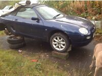 MG TF SPARES 2001 MODEL