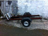 3bike trailer