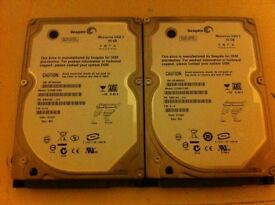 X2 60gb playstation 3 hard drives