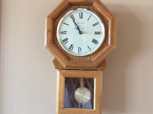 Daniel Dakota Wood Clock