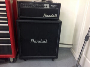 Randall RX120 DHS Amp and RX412