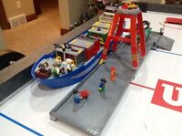 LEGO harbour set