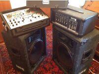 DJ equipment & 2 Sony record decks