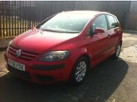2006 VOLKSWAGEN GOLF PLUS 1.9 TDI SE FULL MOT *SALE*