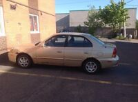 2003 Hyundai Accent.  (Need gone ASAP) $1500 obo