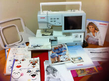 Janome Memory Craft 11,000 NEALLY NEW Chifley Woden Valley Preview