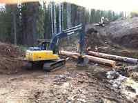 Excavating Contractor  Horse Lake Gravel Ltd  100 Mile House