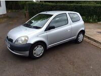 TOYOTA YARIS one owner very low miles