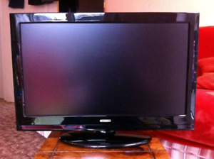 """2 T.V. s. Both Samsung. 32"""" and 22""""."""