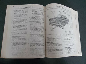 1956 Mercury shop manual London Ontario image 10