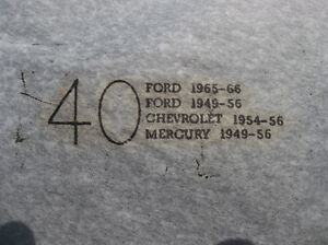 1949 to 1956 Ford & Mercury & Chevrolet 15 inch NOS trim rings London Ontario image 2