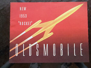 "1953 ""Rocket"" Oldsmobile dealer showroom catalog"