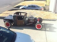 1928 blown ratrod (realistic offers please)