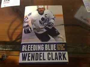 WENDEL CLARK SIGNED AUTOBIOGRAPHY