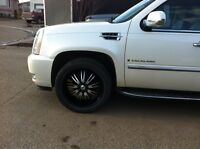 4 305/40R22's on rims with TPS