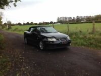 24/7 Trade sales NI Trade Prices for the public 2005 Saab 9-3 1.8 T Linear convertible Black