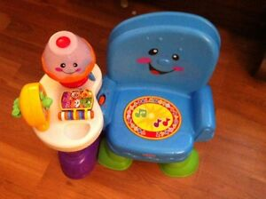 Toddler play and learn chair (fisher price)
