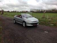 24/7 Trade sales NI Trade Prices for the public 2003 Peugeot 206 Cc Allure Convertible full mot